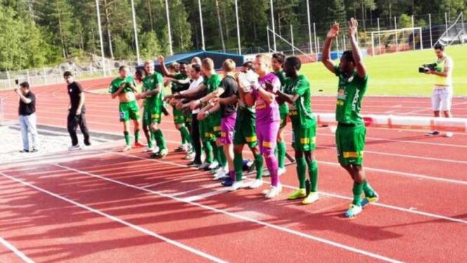 Para pemain Dalkurd FF pada Division 1 Swedia 2014