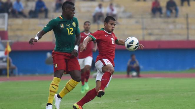 Indonesia Takluk dari Kamerun 0-1