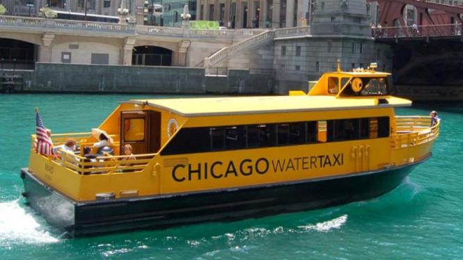 Taksi air di Chicago