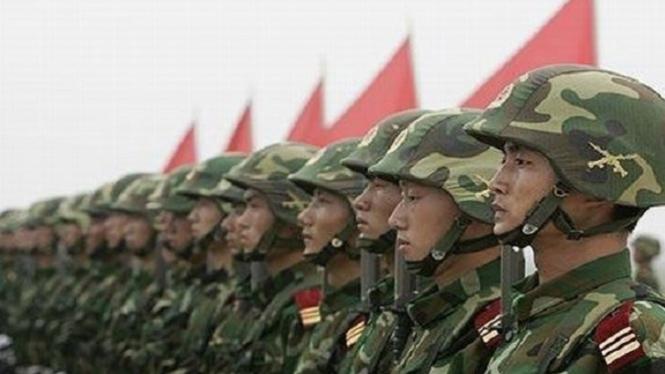 Tentara China.