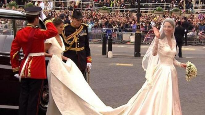 Gaun Pengantin Terindah Dan Termewah Di Dunia Viva