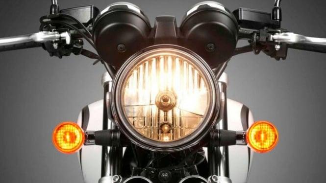 Lampu motor.