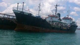 Kapal berbendera Indonesia (ilustrasi).