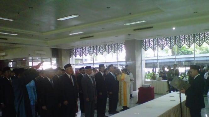 Pejabat baru Eselon I Kementerian ESDM dilantik. Foto ilustrasi