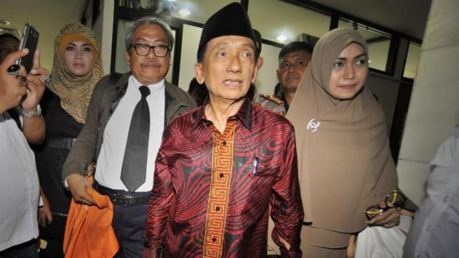 Mantan Bupati dan Ketua DPRD Bangkalan, Fuad Amin.