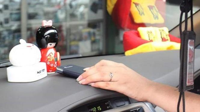 Ilustrasi aksesori mobil