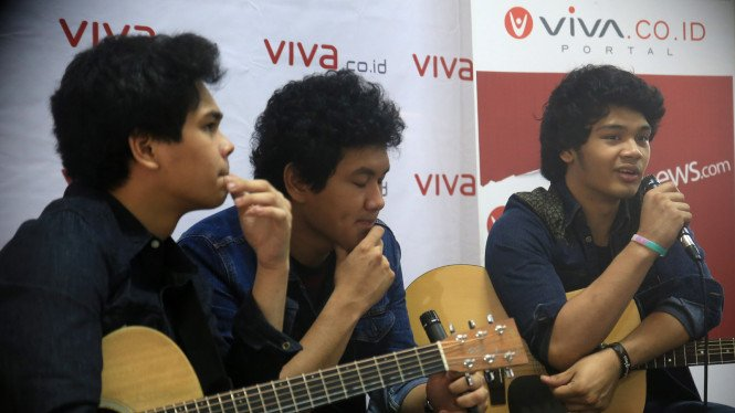 The Overtunes kunjungi redaksi VIVA.co.id