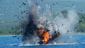 TNI AL tenggelamkan 35 kapal asing