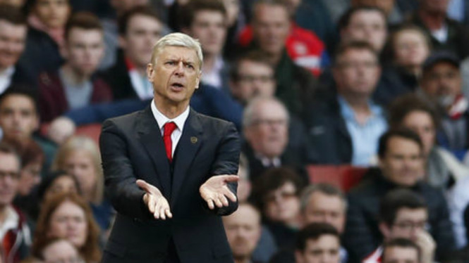 Manajer Arsenal Arsene Wenger