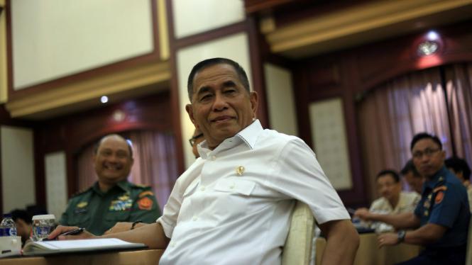 Menteri Pertahanan Ryamizard Ryacudu Silahturahmi dengan Wartawan