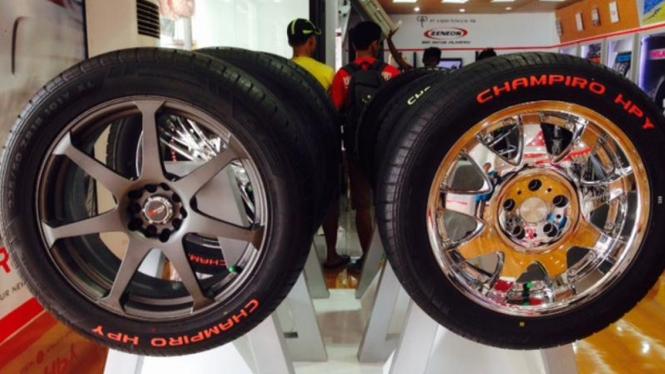 Promo GT Radial di Jakarta Fair 2015