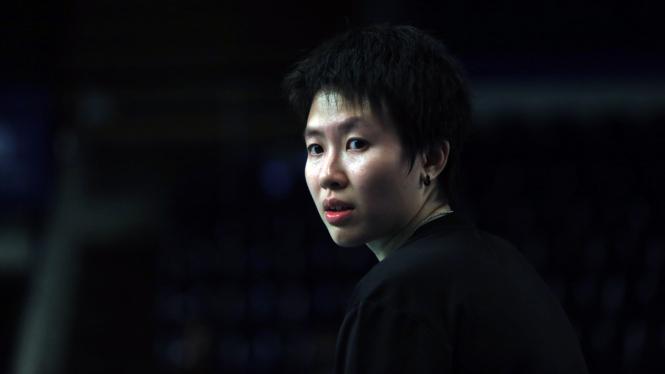 Pebulutangkis ganda campuran Indonesia, Liliyana Natsir.