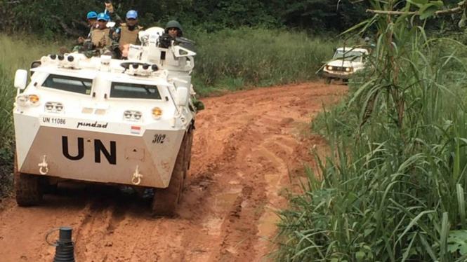 Aksi Pasukan Garuda Belah Belantara Afrika