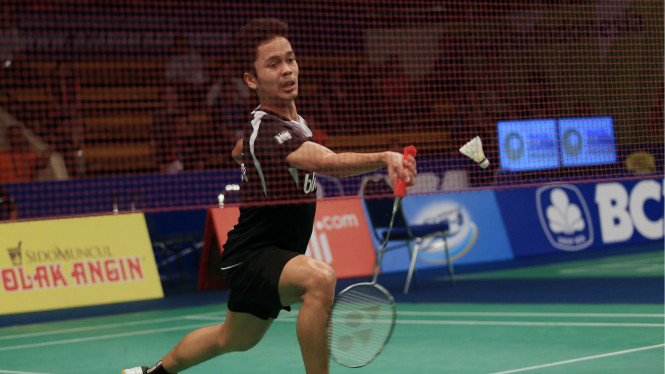 Pebulutangkis tunggal putra Indonesia, Anthony Ginting
