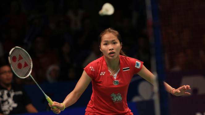 Pebulutangkis Putri Thailand  Ratchanok Intanon Juarai Indonesia Open 2015