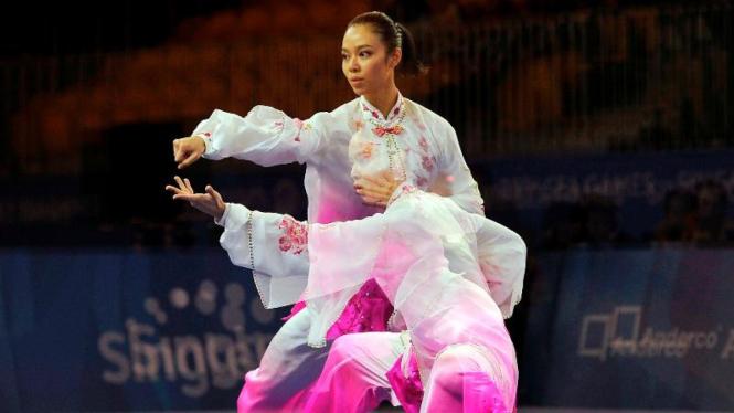 Atlet Wushu, Lindswell Kwok.