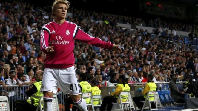 Pemain Muda Real Madrid, Martin Odegaard