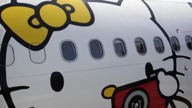Ilustrasi Hello Kitty