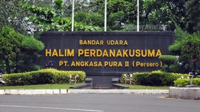 Bandar Udara Halim Perdanakusuma.
