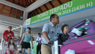 Posko Lebaran di Bandara Ngurah Rai