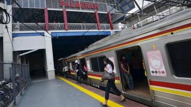 Stasiun Palmerah Jakarta