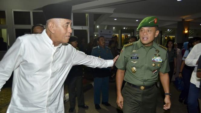 Jelang Pelantikan Panglima TNI Jendral Gatot Nurmantyo
