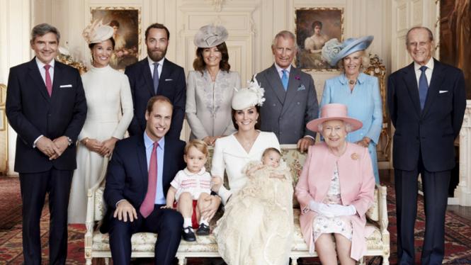 Keluarga kerajaan Inggris yang tersohor.