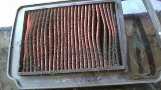 Catat, Efek Buruk Telat Ganti Filter Udara di Motor