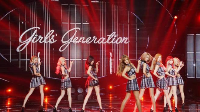 SNSD atau Girls Generation yang memiliki fans fanatik