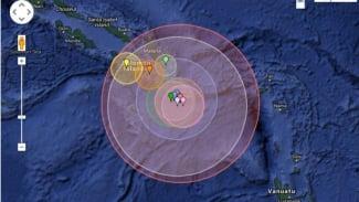Ilustrasi/Gempa bumi.