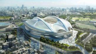 Stadion Nasional Jepang untuk Olimpiade 2020 yang batal.