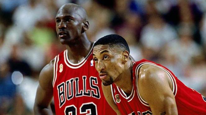 Michael Jordan dan Scottie Pippen