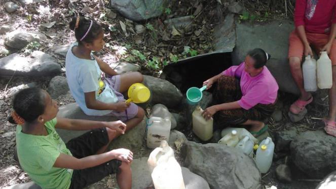 Krisis air bersih di Sikka, Nusa Tenggara Timur