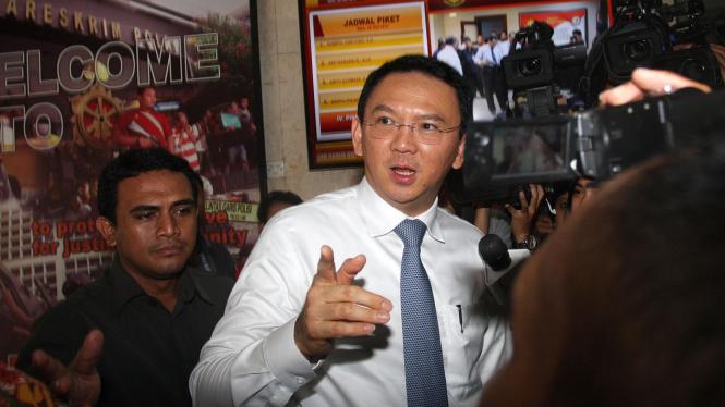 Gubernur DKI Jakarta Basuki Tjahja Purnama (Ahok).