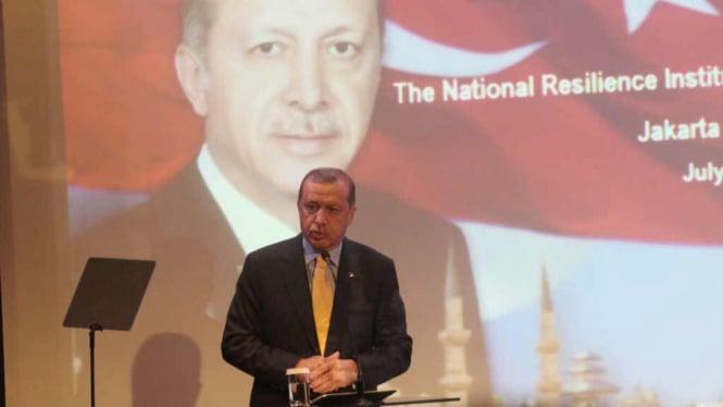 Presiden Turki Berikan Kuliah Umum di Lemhanas