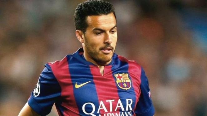 Penyerang Barcelona. Pedro Rodriguez