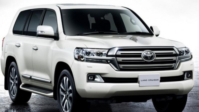 Toyota Land Cruiser 200 terbaru