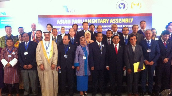 Sidang APA (Asian Parliamentery Assembly)