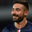 Pemain Paris Saint-Germain (PSG), Ezequiel Lavezzi.