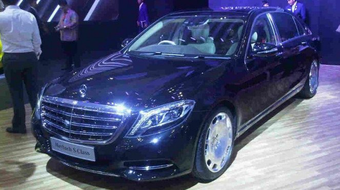 Mercedes-Benz Maybach S-Class.