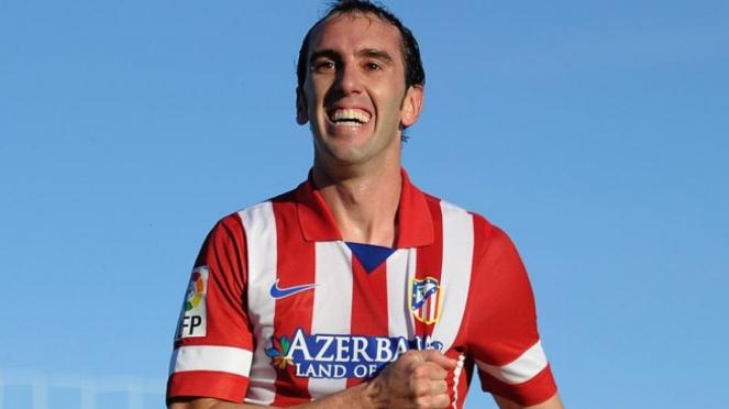 Bek Atletico Madrid, Diego Godin.
