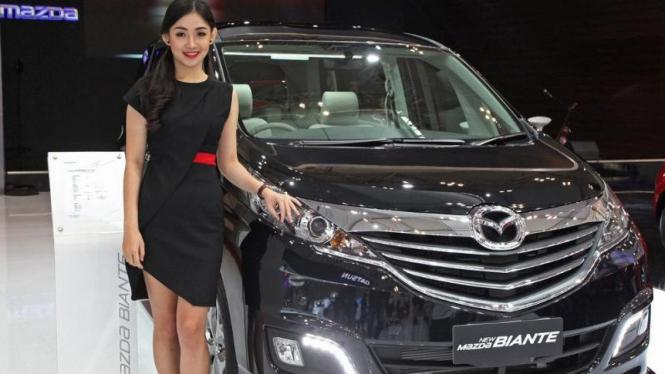 Booth Mazda di GIIAS 2015.