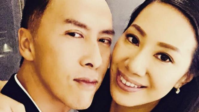 Donnie Yen dan Cecilia Wang