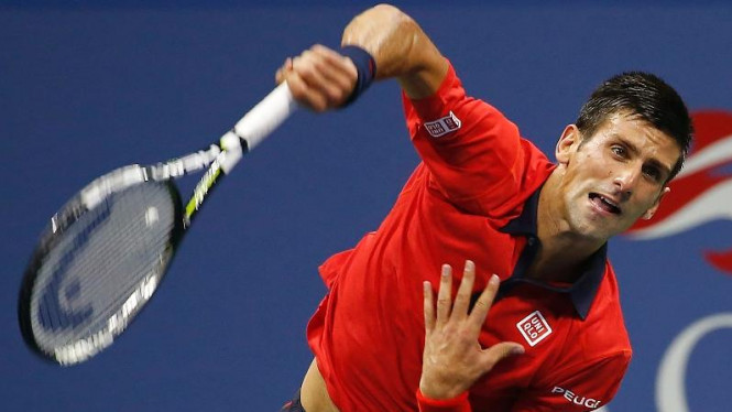 Petenis asal Serbia, Novak Djokovic.