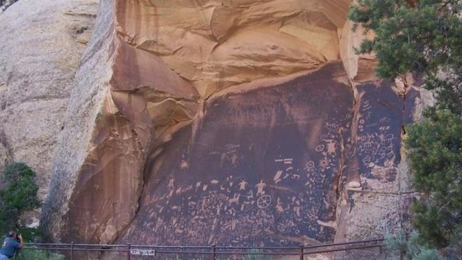 Koran Batu di Utah