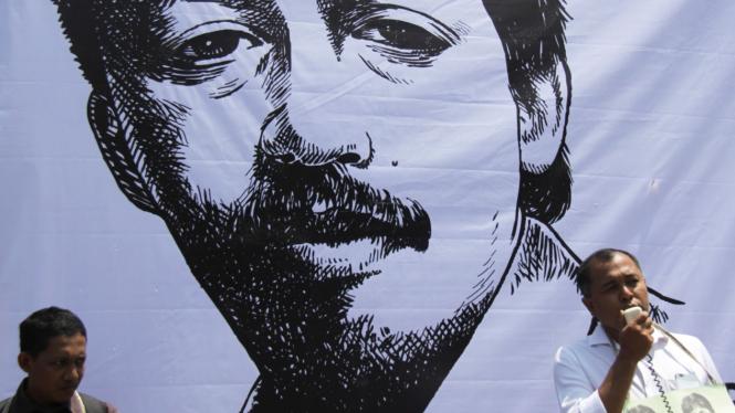 Peringatan 11 Tahun Kematian Munir.
