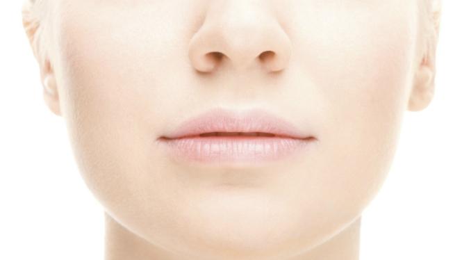 Ilustrasi kulit wajah