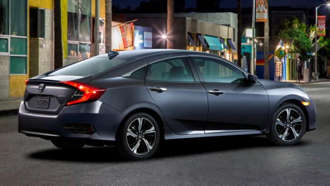 Honda Civic 2016.