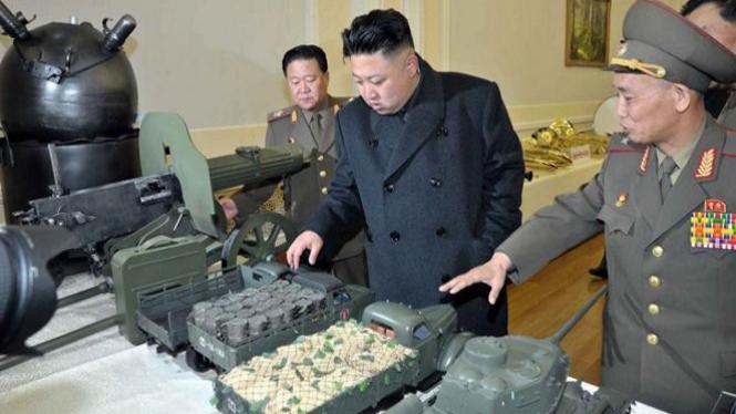 Presiden Korea Utara Kim Jong Un.  Kali ini Korea Utara menyampaikan protes resminya atas resolusi yang dilayangkan PBB.