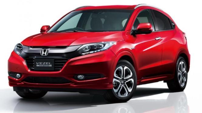 Honda HR-V edisi spesial.